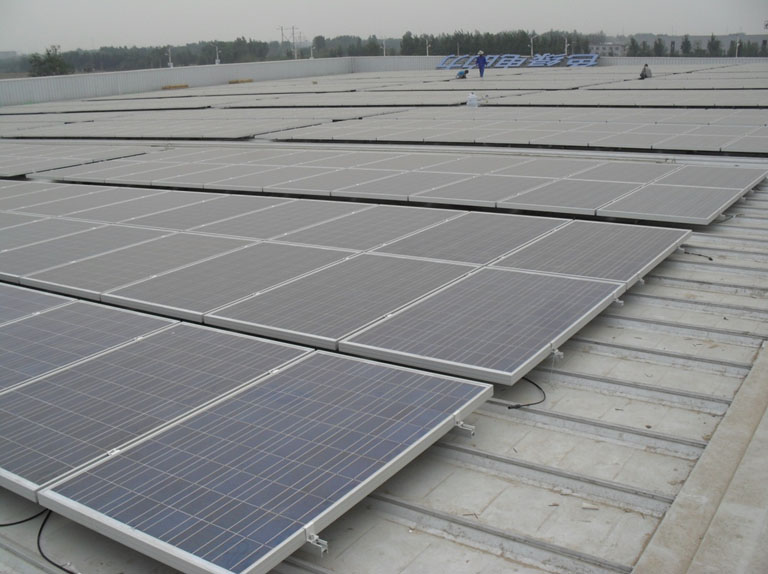 Hengshui Yingli 4MW Roofing Project